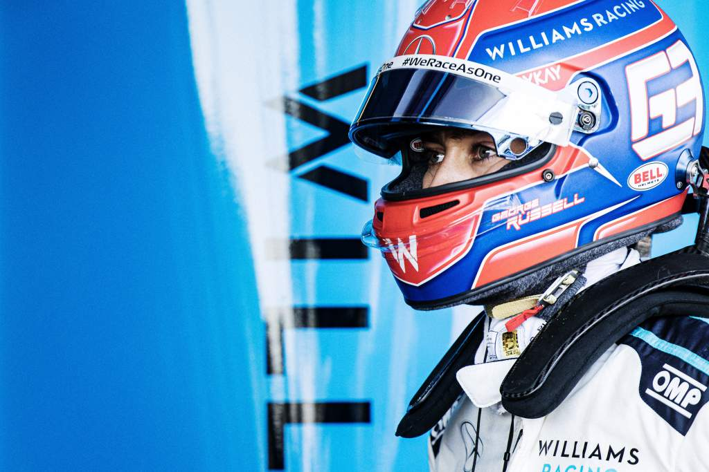 George Russell Williams F1