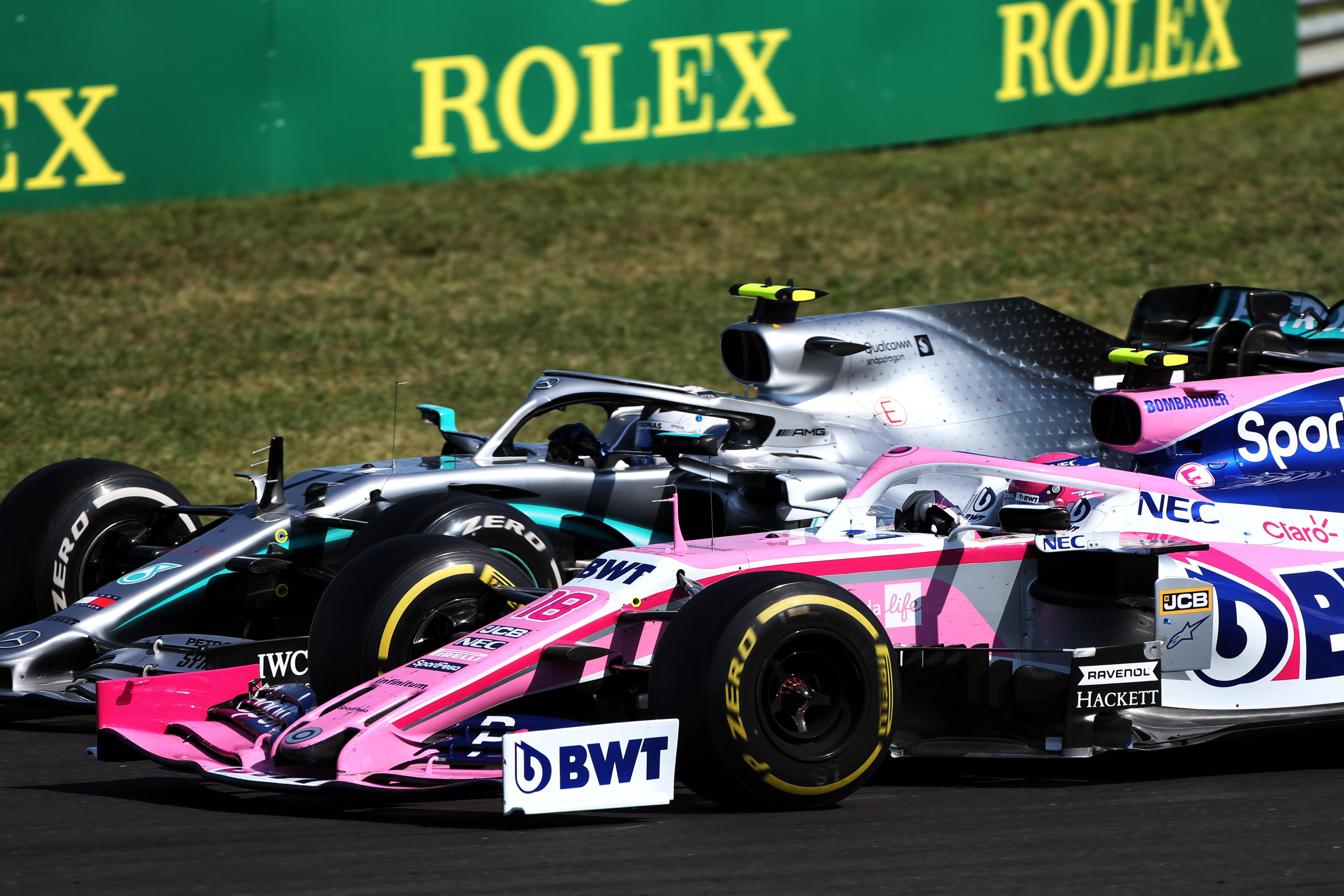 Racing Point Mercedes Hungarian Grand Prix 2019