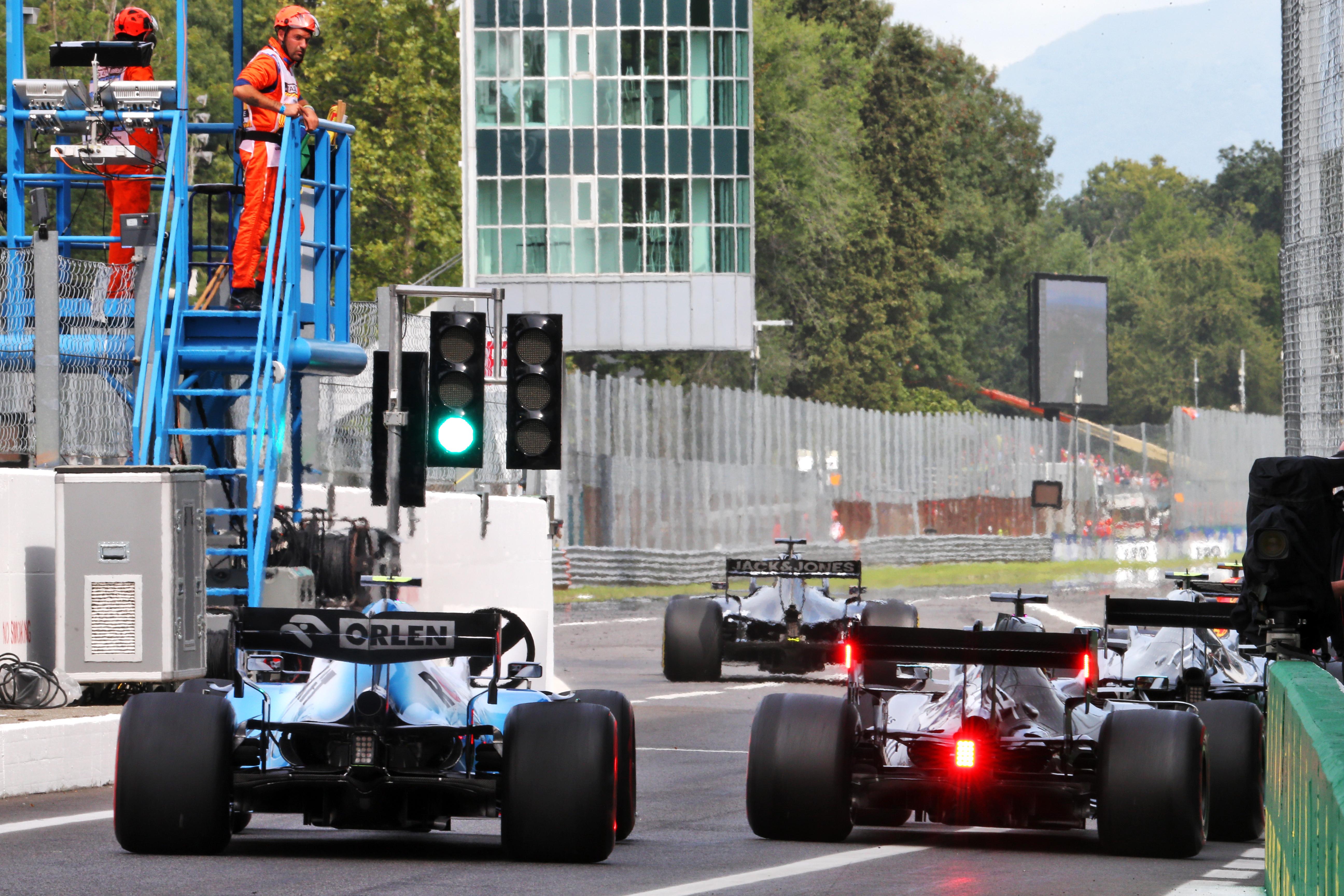 Monza practice