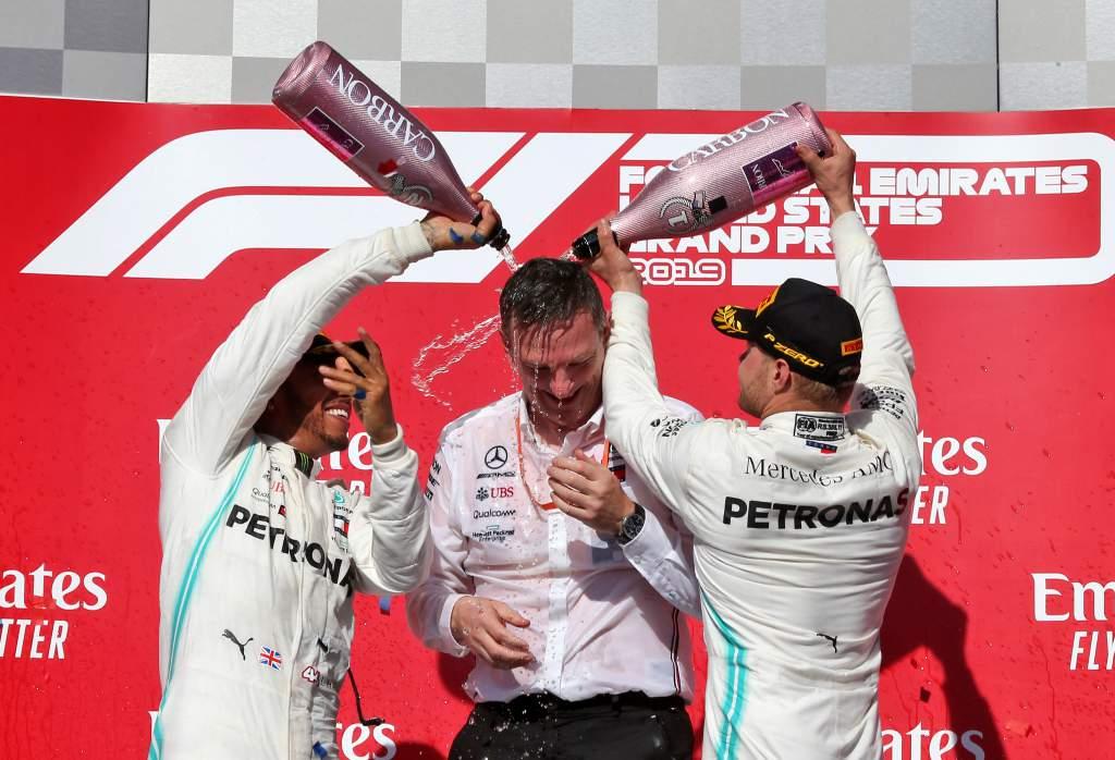Lewis Hamilton Valtteri Bottas Mercedes F1