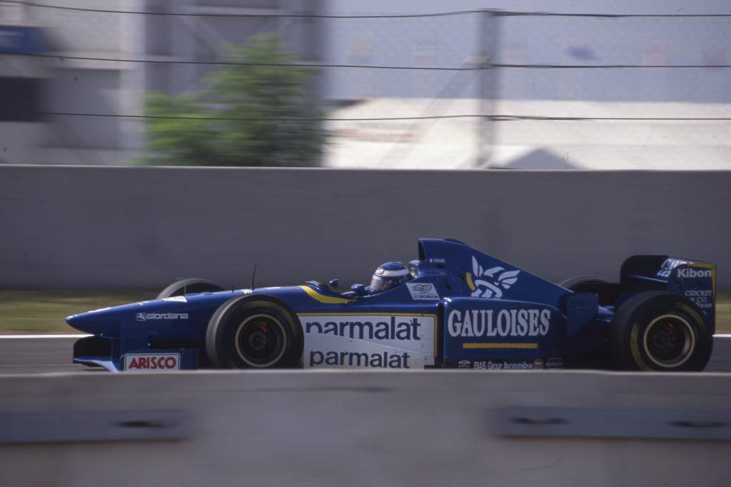 Olivier Panis Ligier Spanish Grand Prix 1996 Barcelona