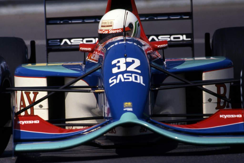 Canadian GP Jordan 1992 F1