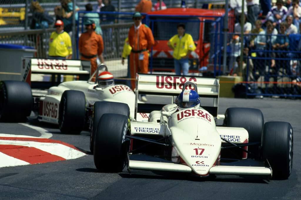 Derek Warwick Arrows Monaco Grand Prix 1988