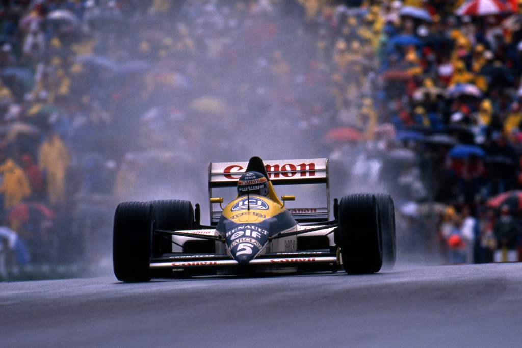 Thierry Boutsen Williams Canadian Grand Prix 1989 Montreal