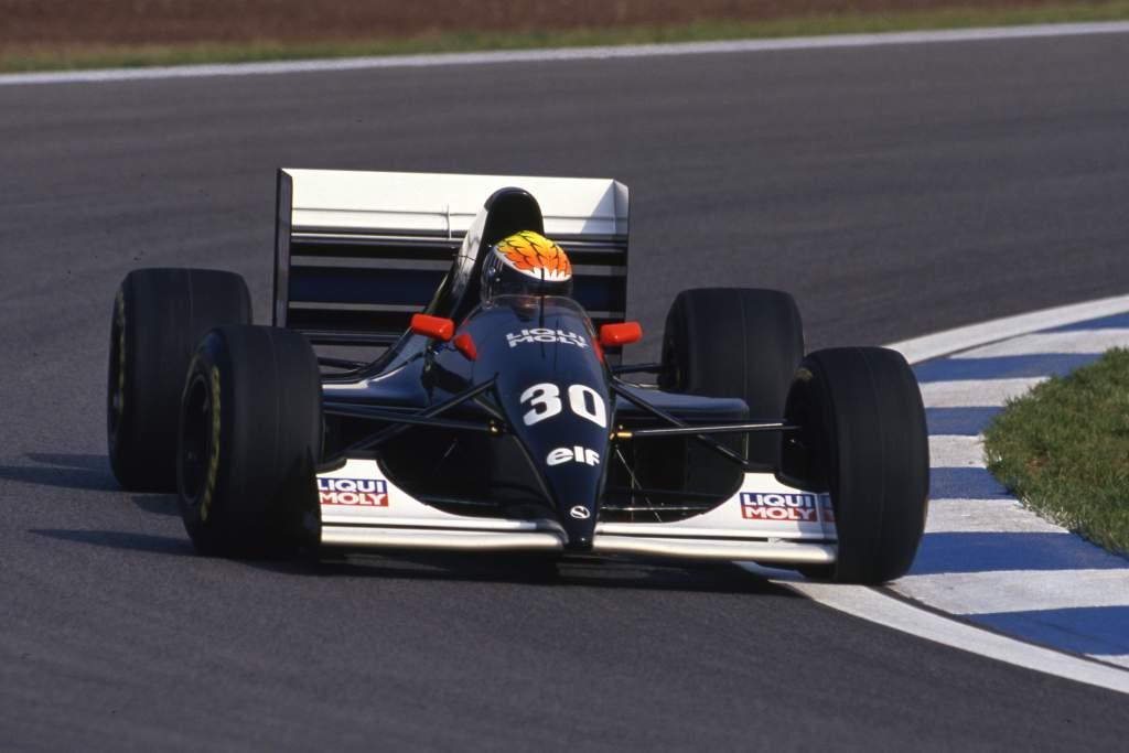 JJ Lehto Sauber F1