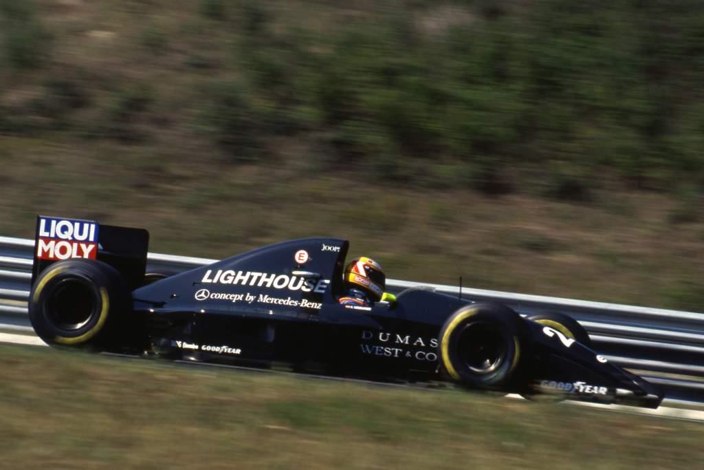 Karl Wendlinger Sauber F1