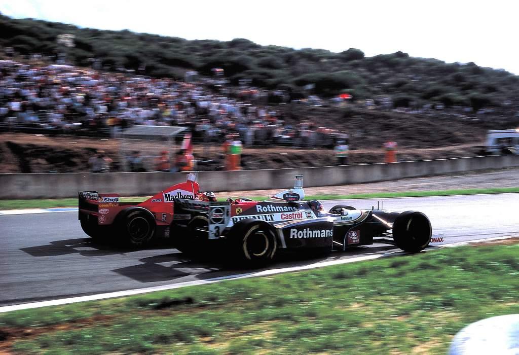 Jacques Villeneuve Michael Schumacher collision Jerez 1997