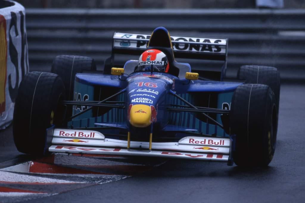 Johnny Herbert Sauber F1