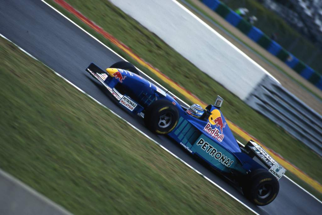 Norberto Fontana Sauber F1