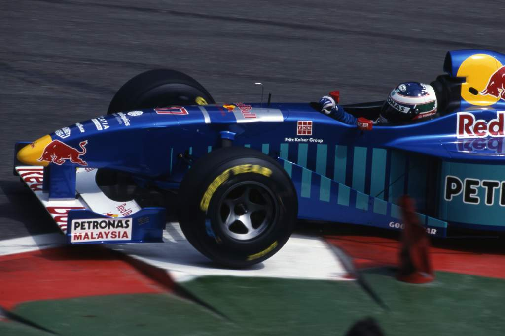 Gianni Morbidelli Sauber F1