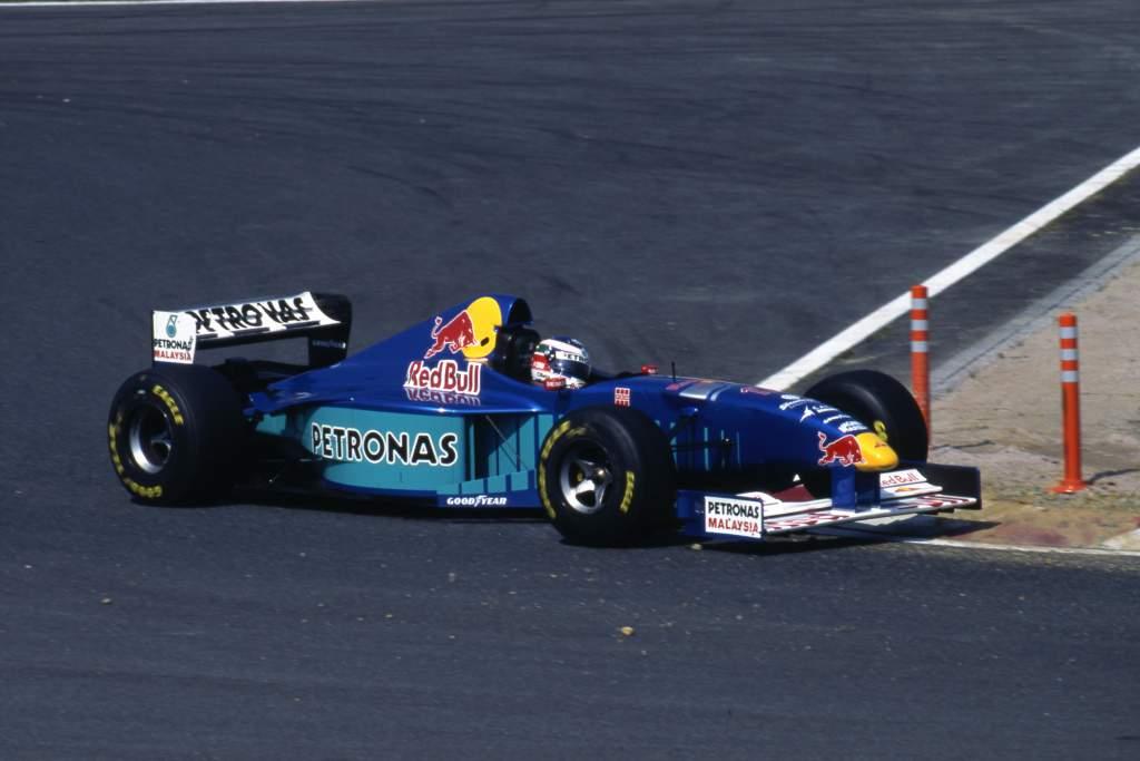 Gianni Morbidelli Sauber Japanese Grand Prix 1997 Suzuka