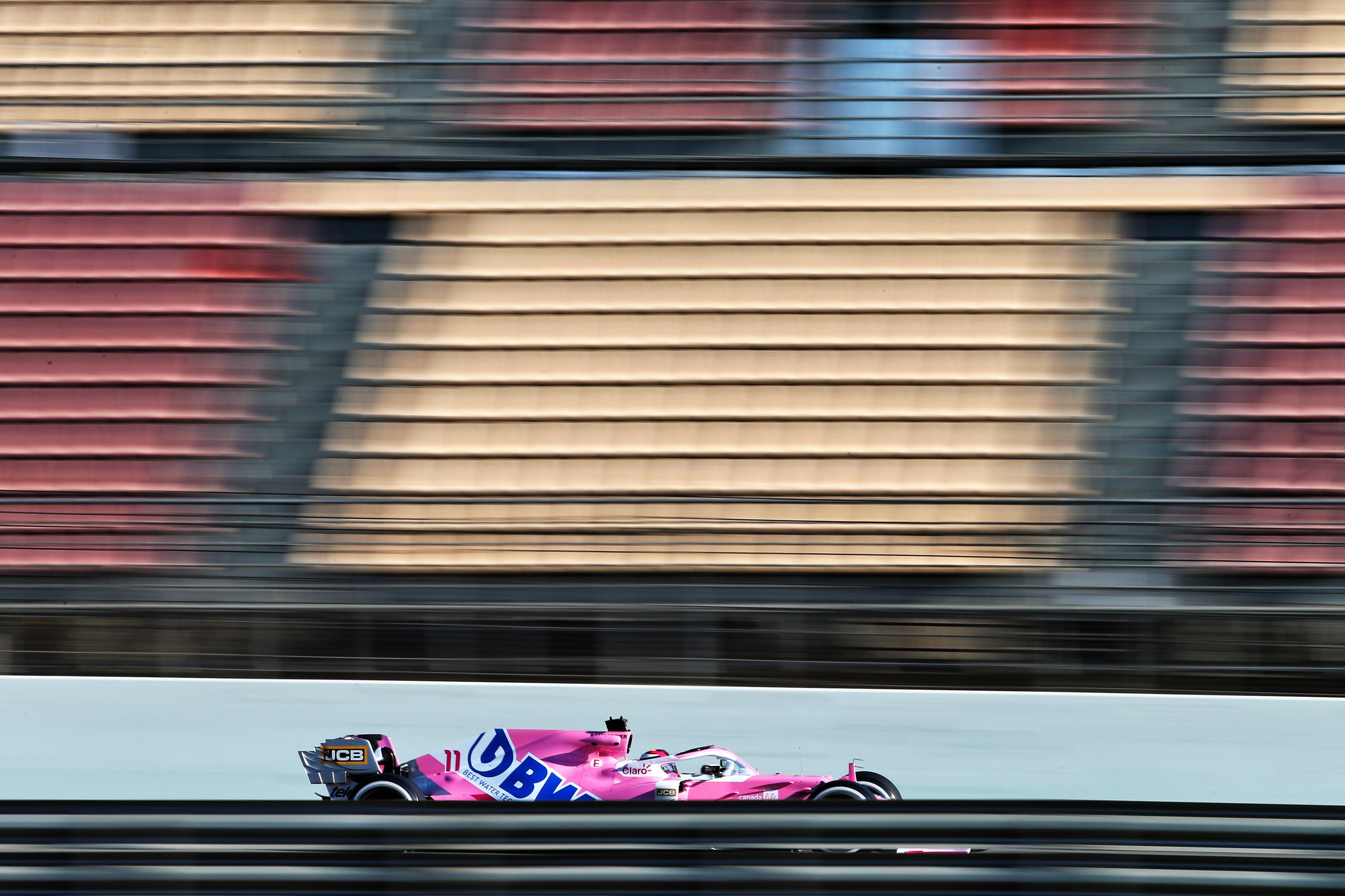 Racing Point F1 testing Barcelona 2020