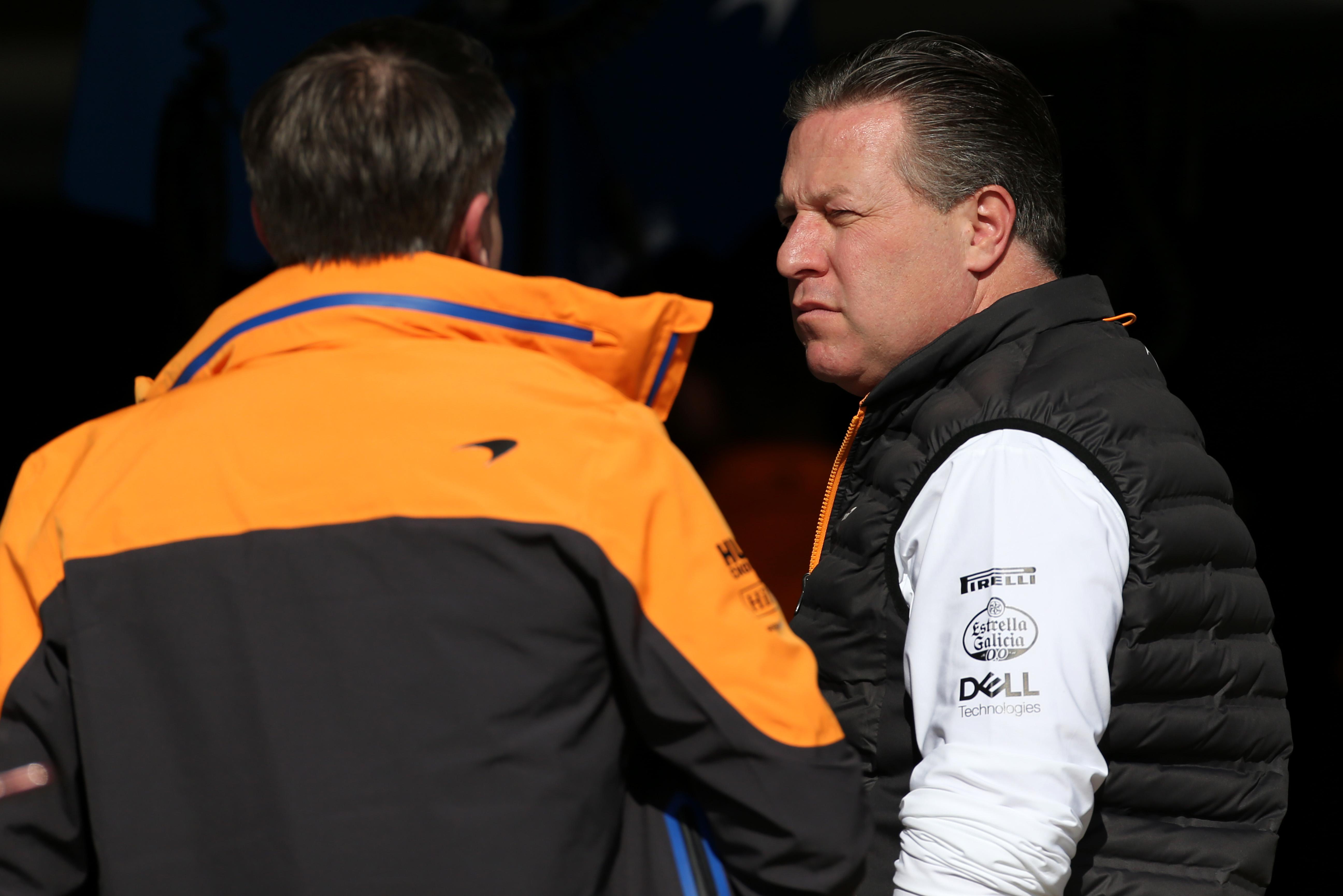 Zak Brown McLaren F1 2020