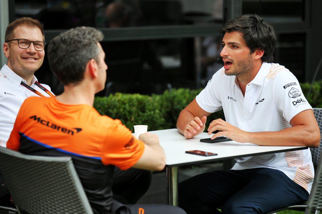 Carlos Sainz Jr McLaren F1