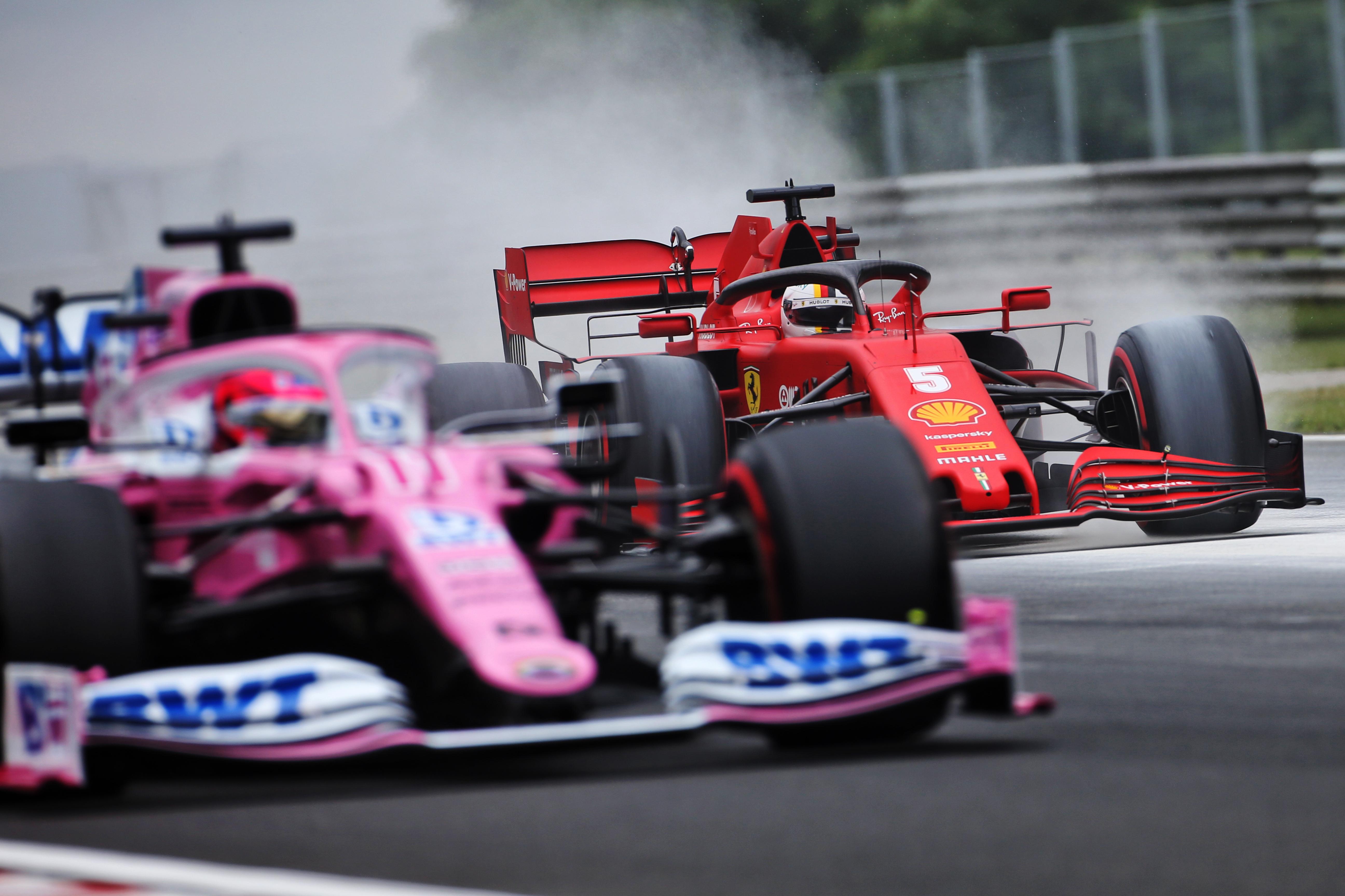 Sebastian Vettel Ferrari F1 Hungary 2020