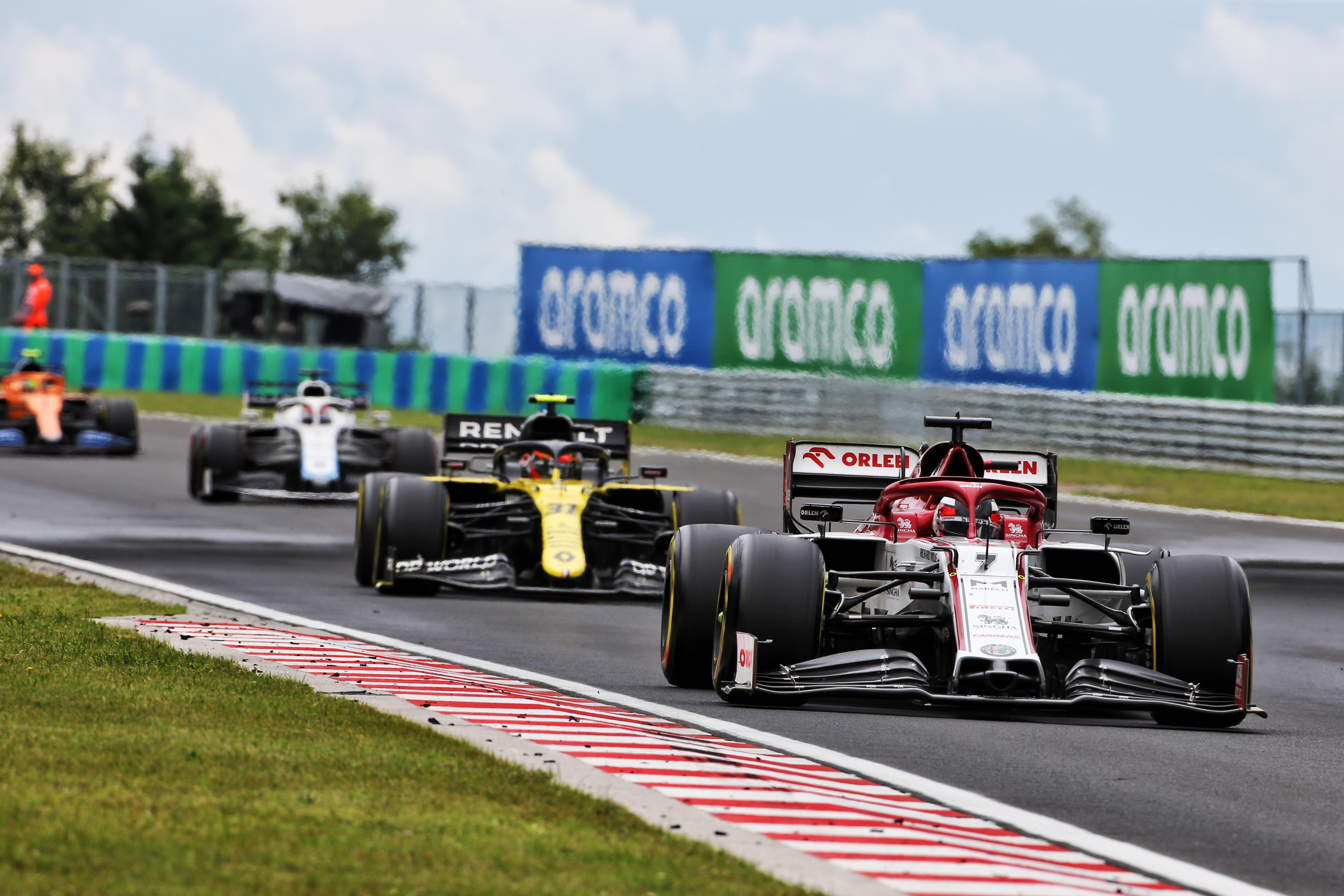 Kimi Raikkonen Alfa Romeo Hungarian Grand Prix 2020