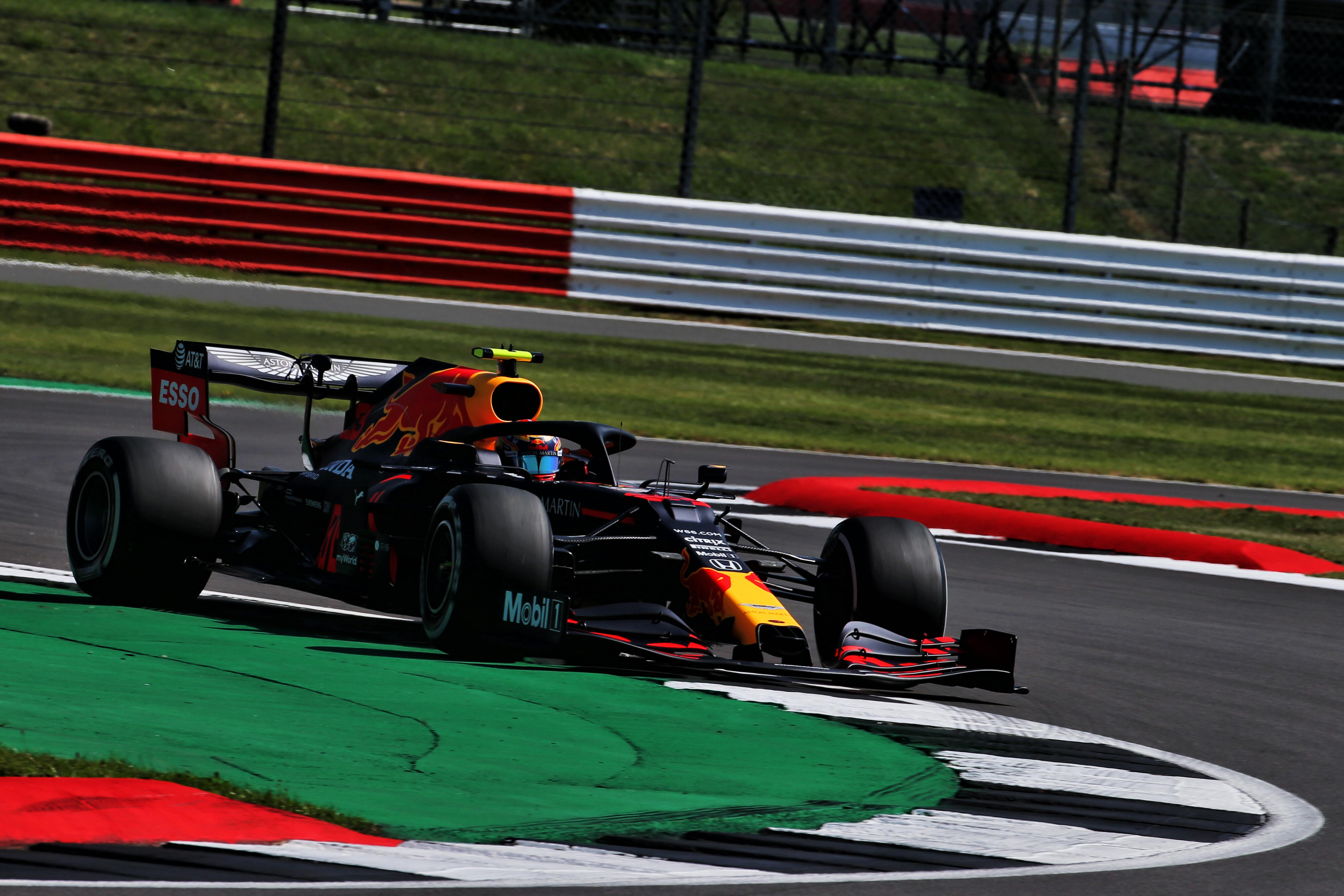 Alex Albon Red Bull British Grand Prix practice 2020 Silverstone
