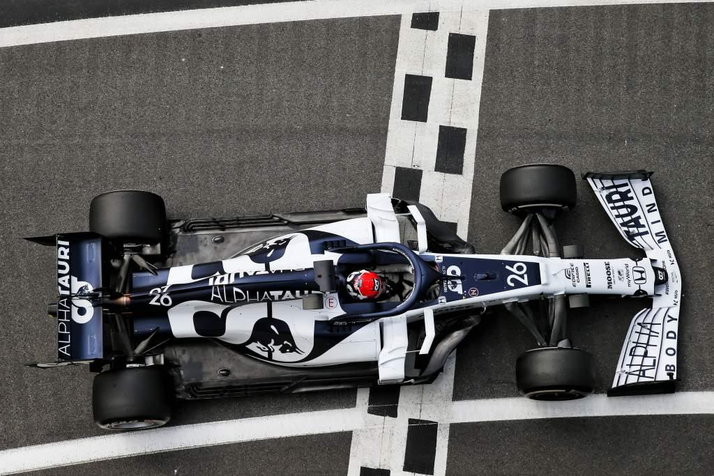 Daniil Kvyat AlphaTauri British Grand Prix 2020 Silverstone