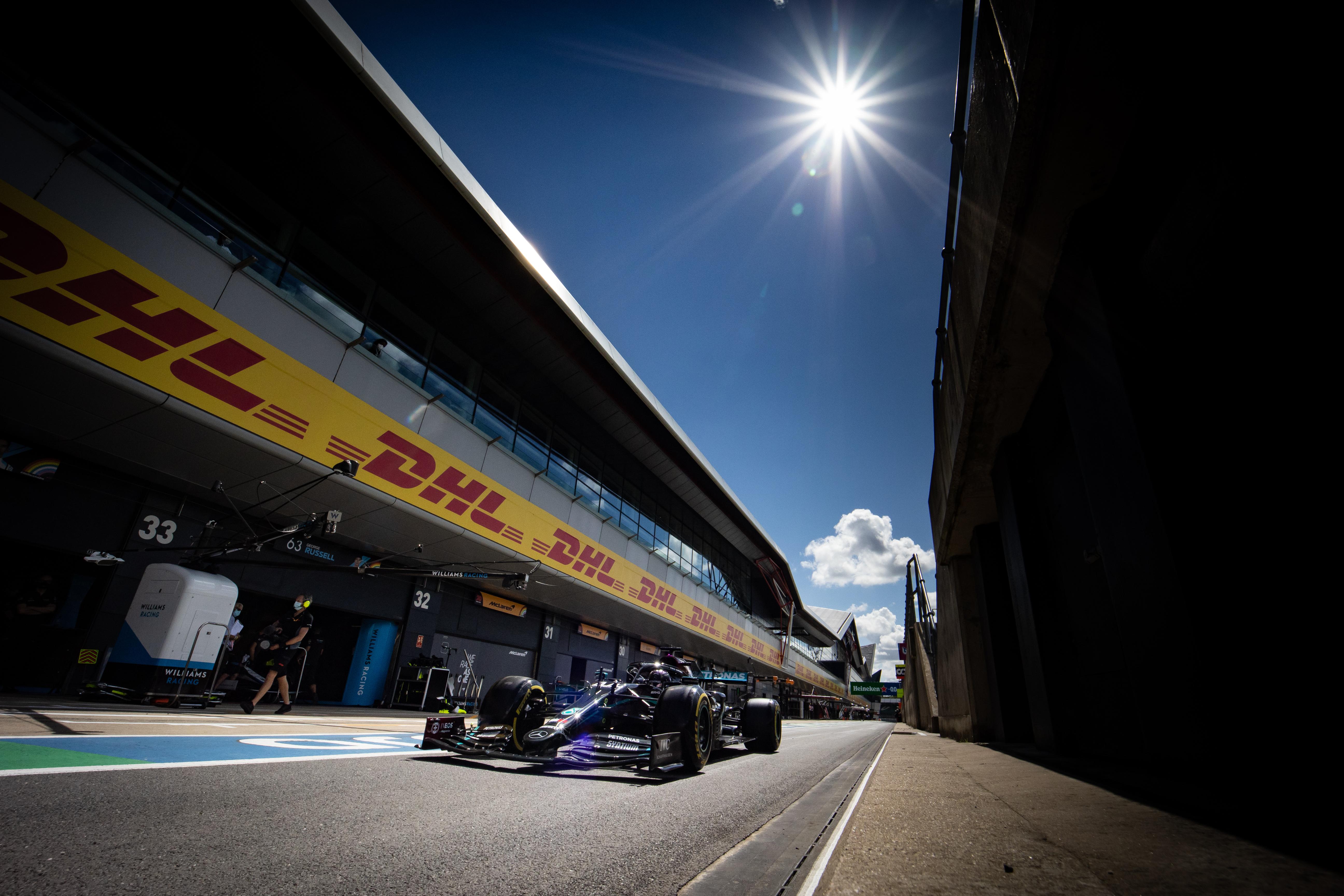 Lewis Hamilton Mercedes Silverstone 2020
