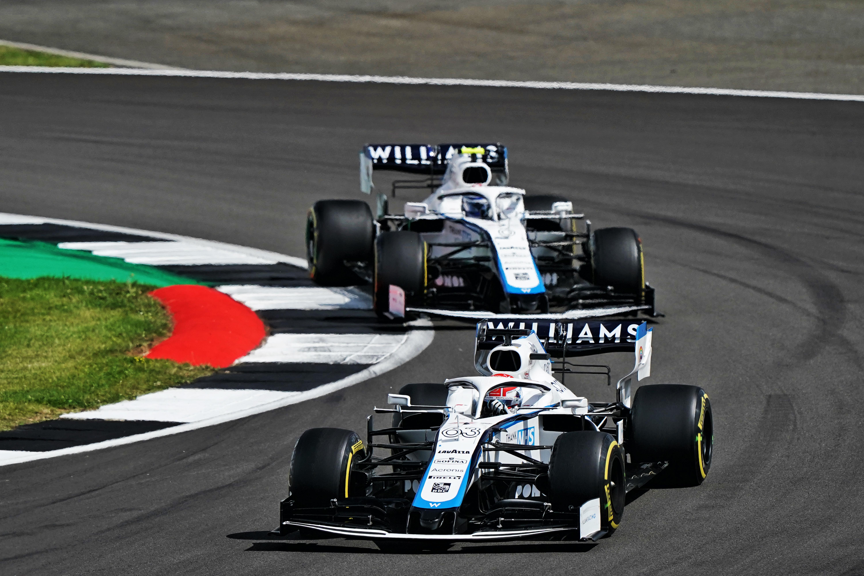 George Russell Nicholas Latifi Williams British Grand Prix 2020 Silverstone