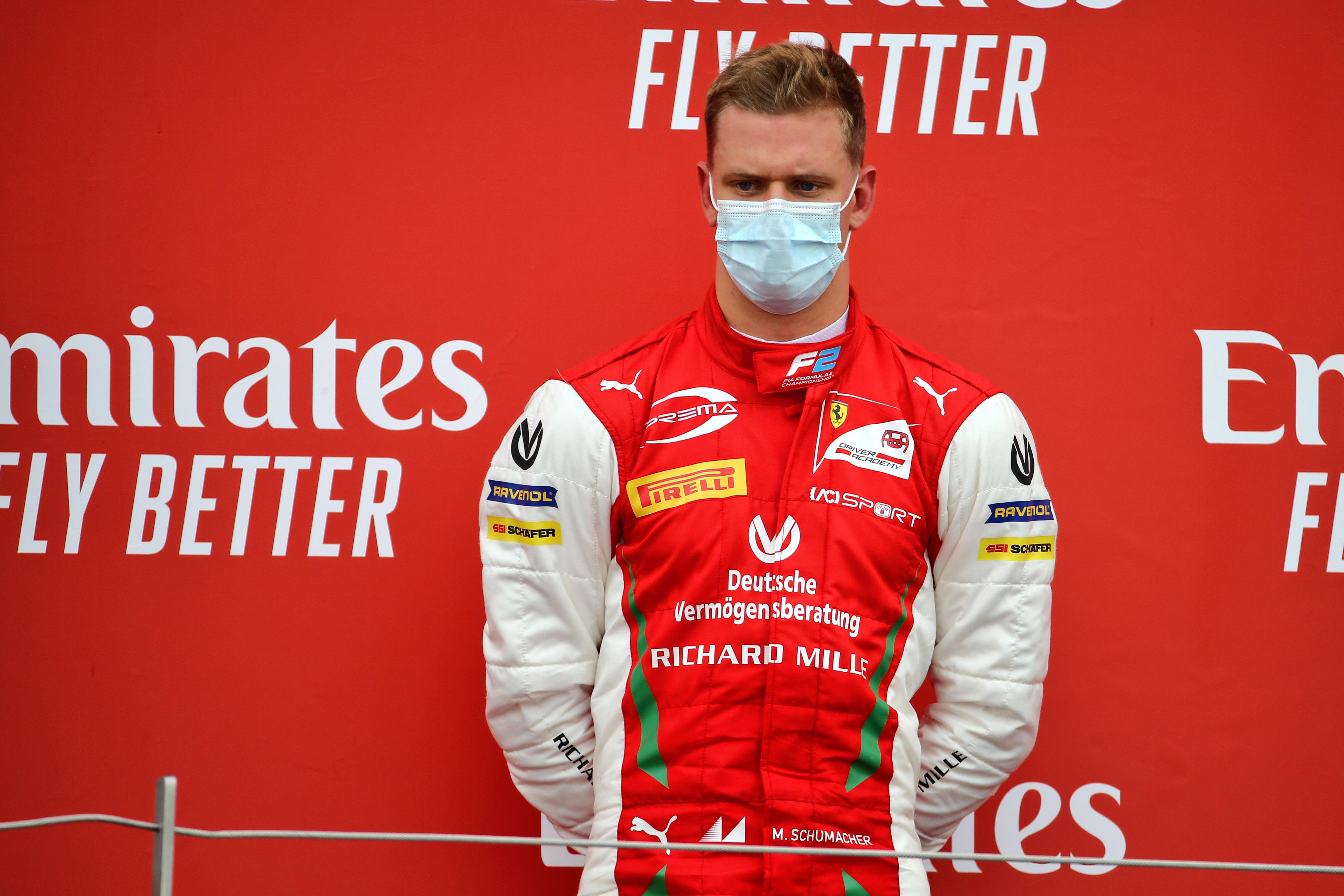 Motor Racing Fia Formula 2 Championship Sunday Silverstone, England