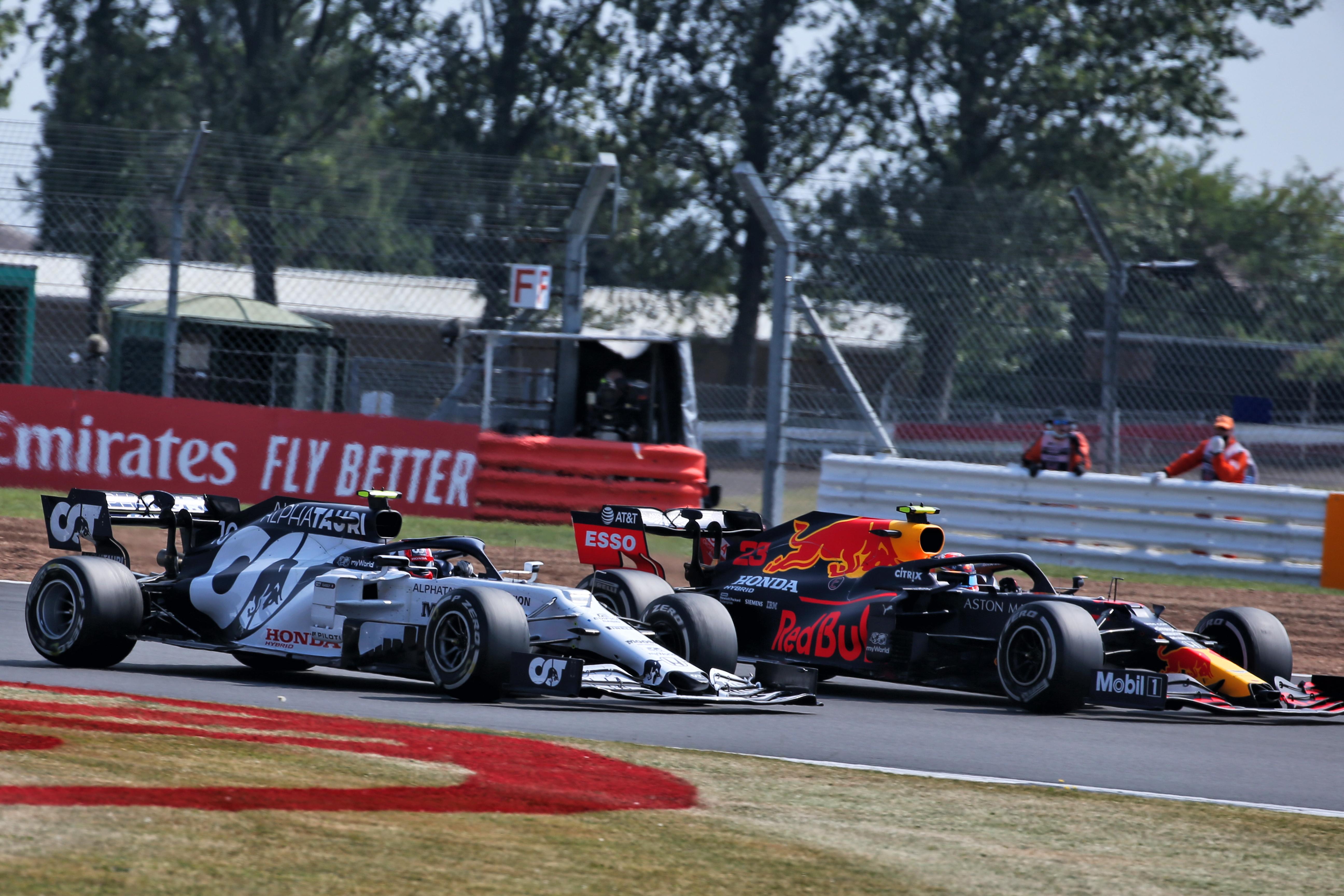 Pierre Gasly AlphaTauri Alex Albon Red Bull F1 2020