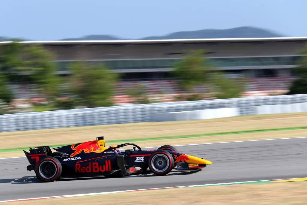 Motor Racing Fia Formula 2 Championship Friday Barcelona, Spain