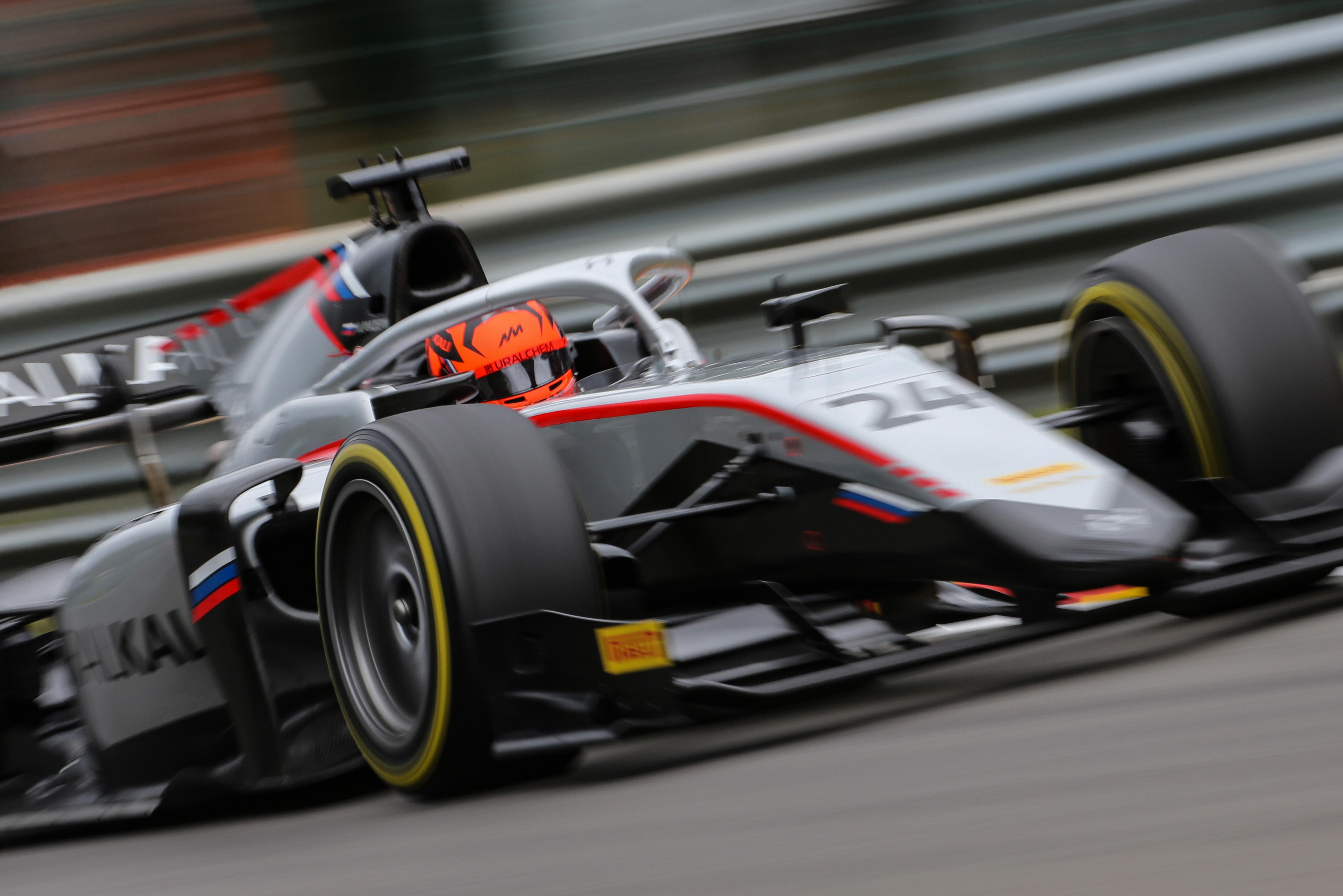 Motor Racing Fia Formula 2 Championship Friday Spa Francorchamps, Belgium