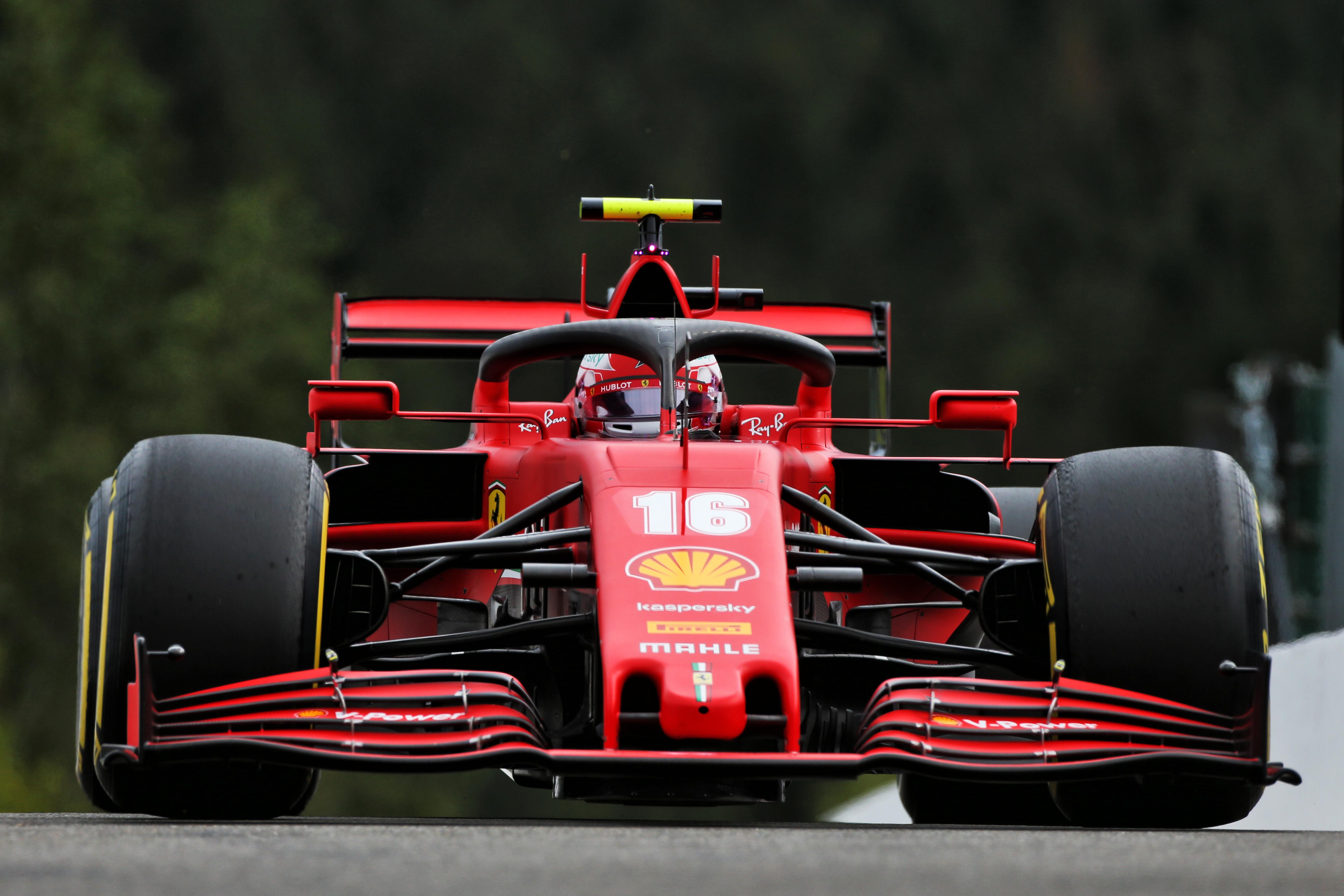 Charles Leclerc Ferrari F1 2020 Belgian Grand Prix Spa