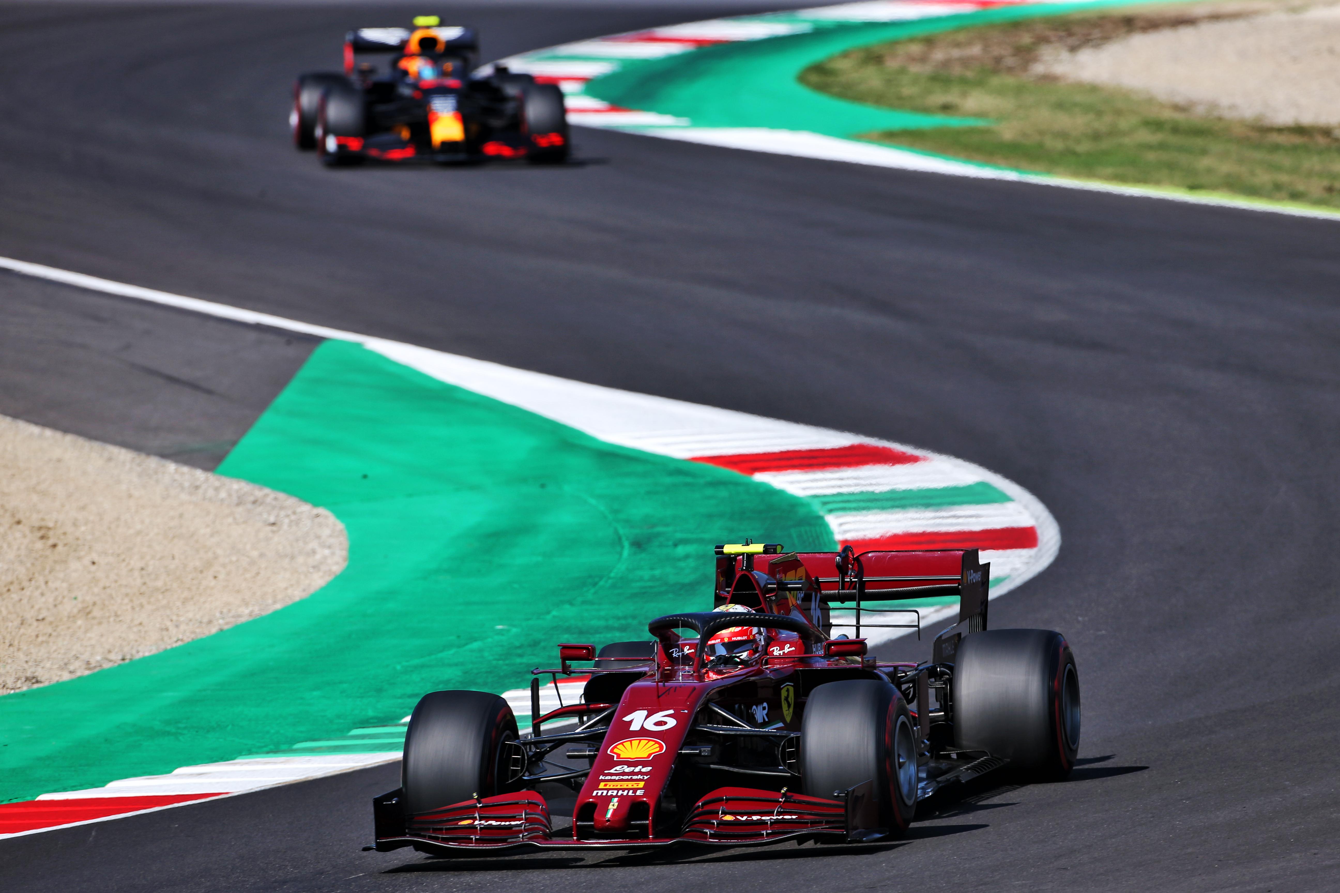 Charles Leclerc Ferrari Tuscan Grand Prix 2020 Mugello