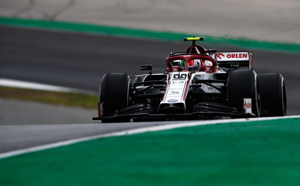 Antonio Giovinazzi Alfa Romeo Portuguese Grand Prix 2020 Algarve