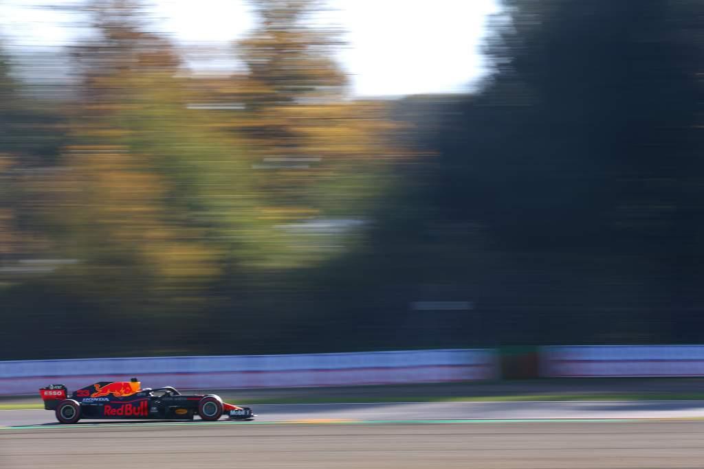 Max Verstappen Red Bull Imola 2020