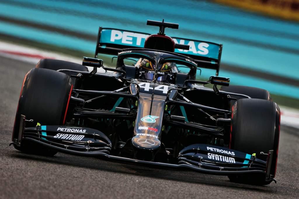 Lewis Hamilton Mercedes F1 2020