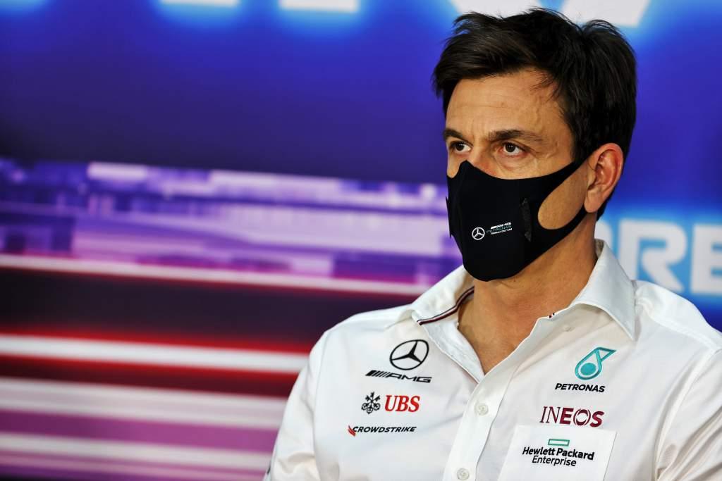 toto Wolff Mercedes F1 2021 testing Bahrain