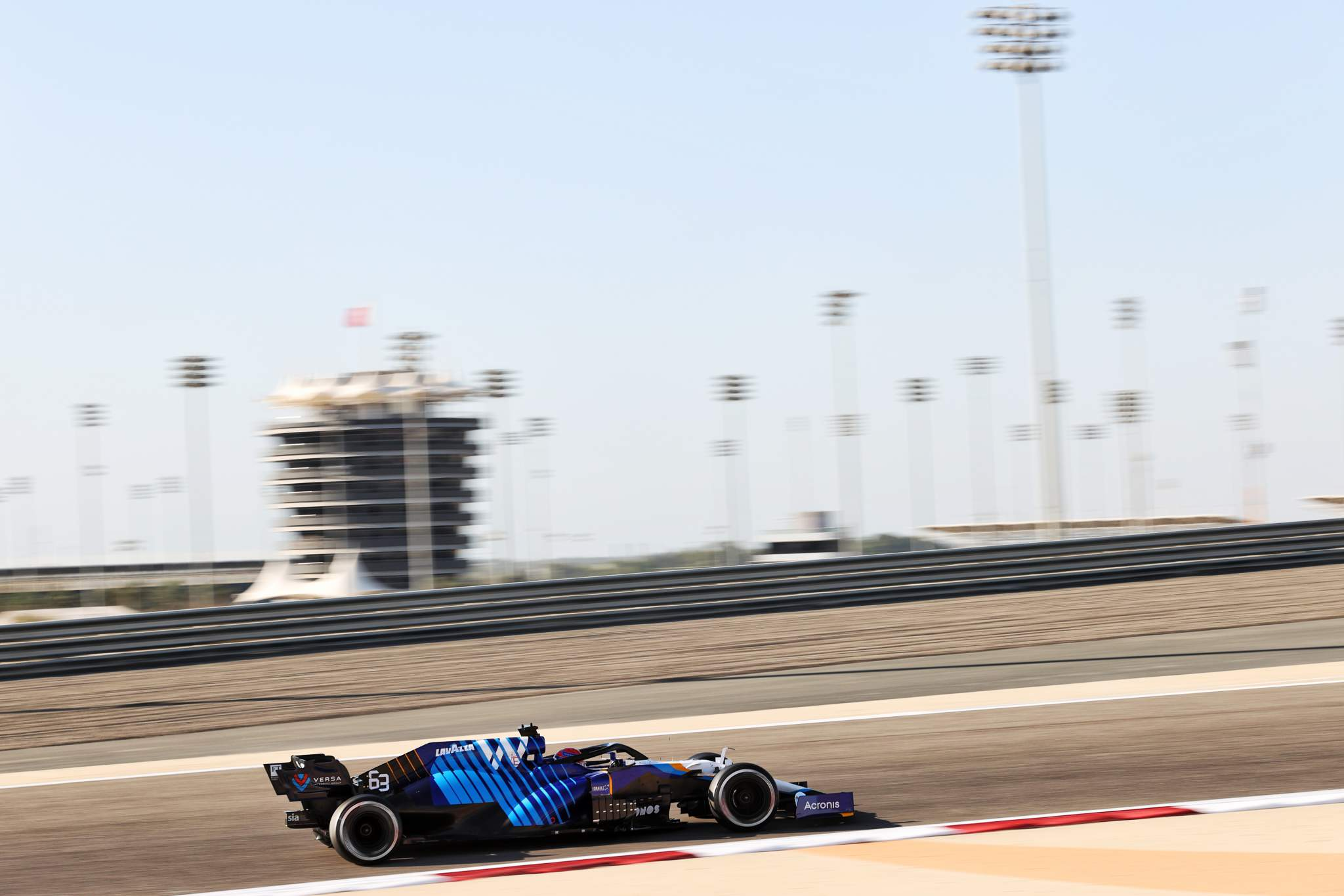 Motor Racing Formula One Testing Day Three Sakhir, Bahrain