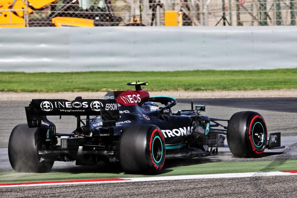 Valtteri Bottas Mercedes Bahrain GP F1