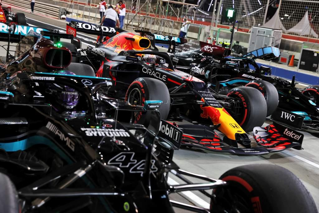 Mercedes Red Bull Bahrain GP F1