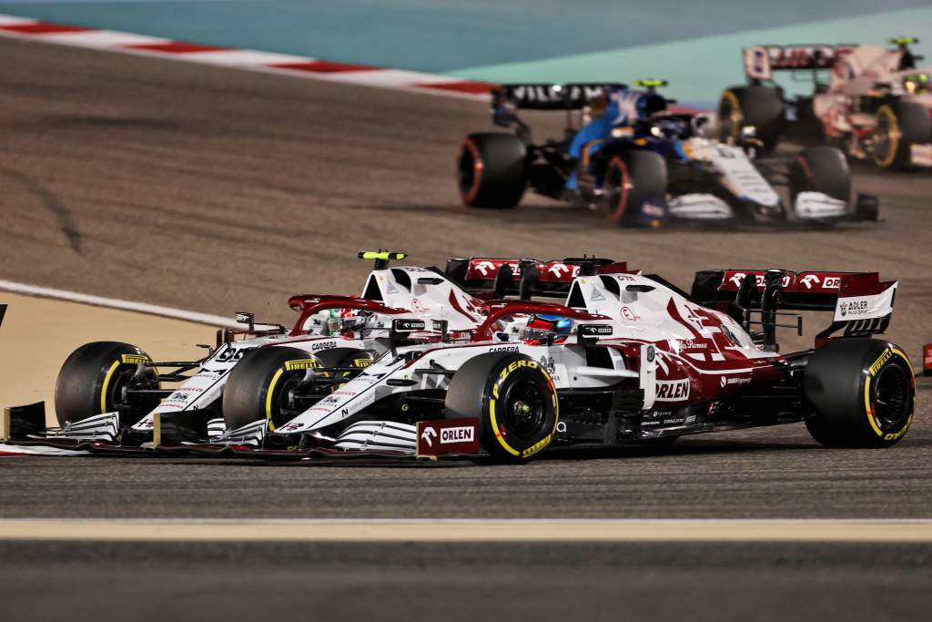 Alfa Romeo Williams Bahrain GP F1