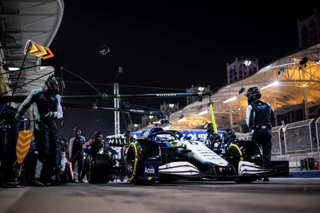 Nicholas Latifi Williams F1 Bahrain GP