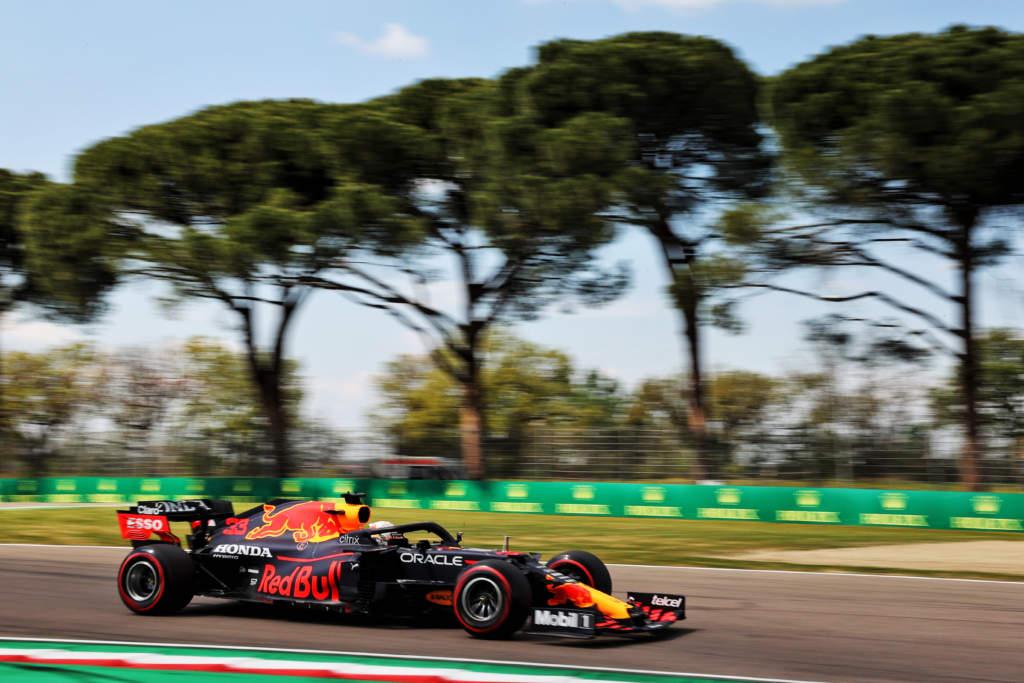 Max Verstappen Red Bull Imola F1 2021