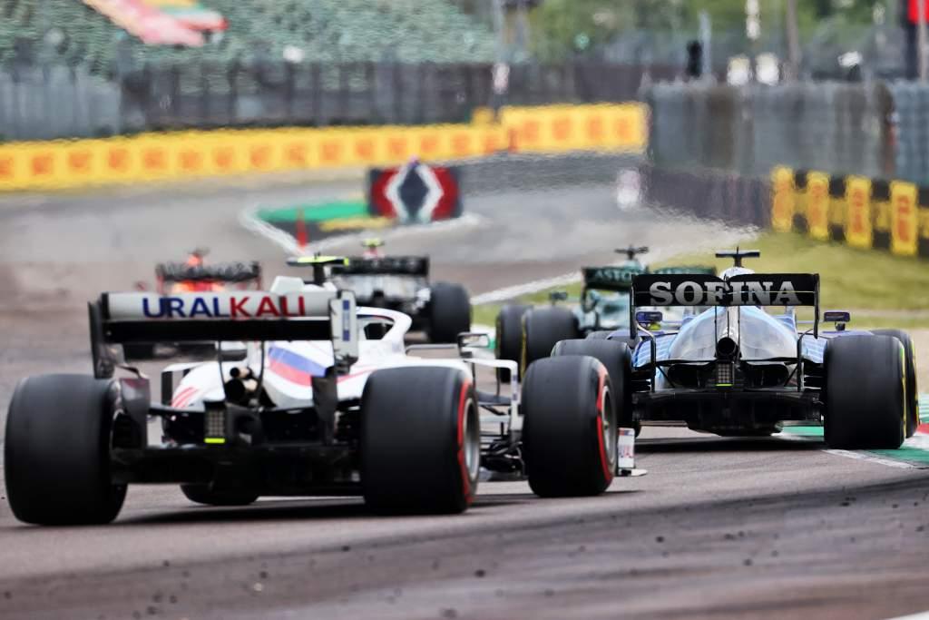 Haas Williams F1 2021