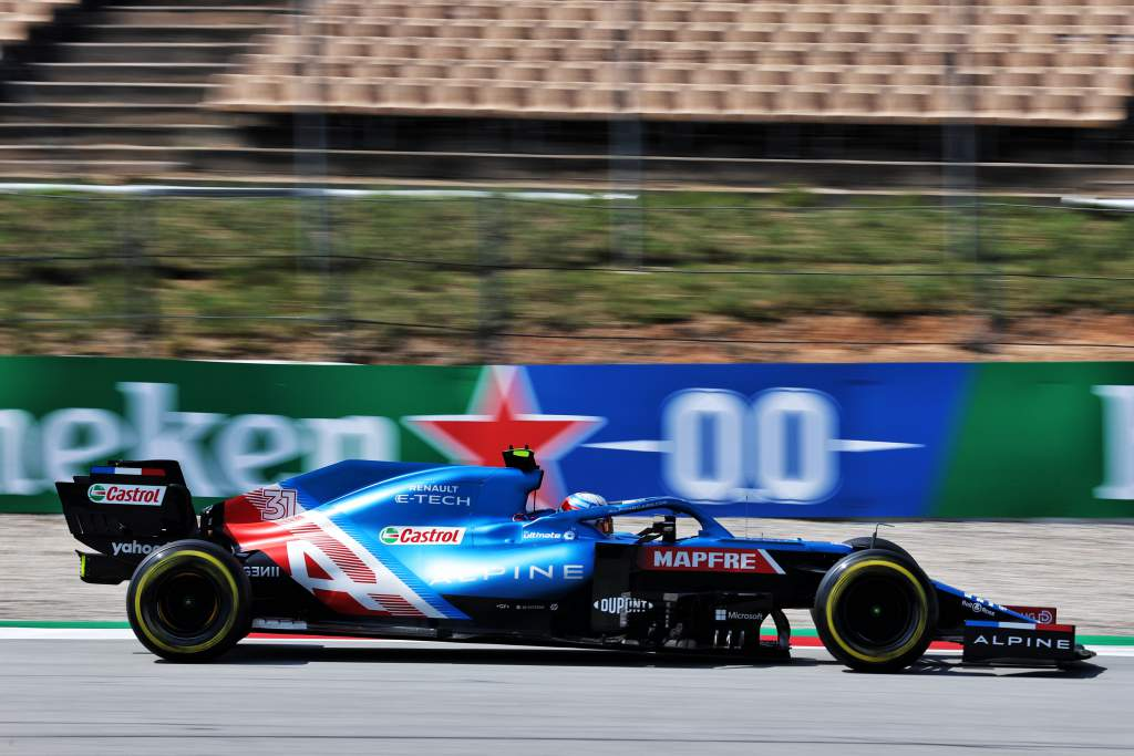 Motor Racing Formula One World Championship Spanish Grand Prix Practice Day Barcelona, Spain