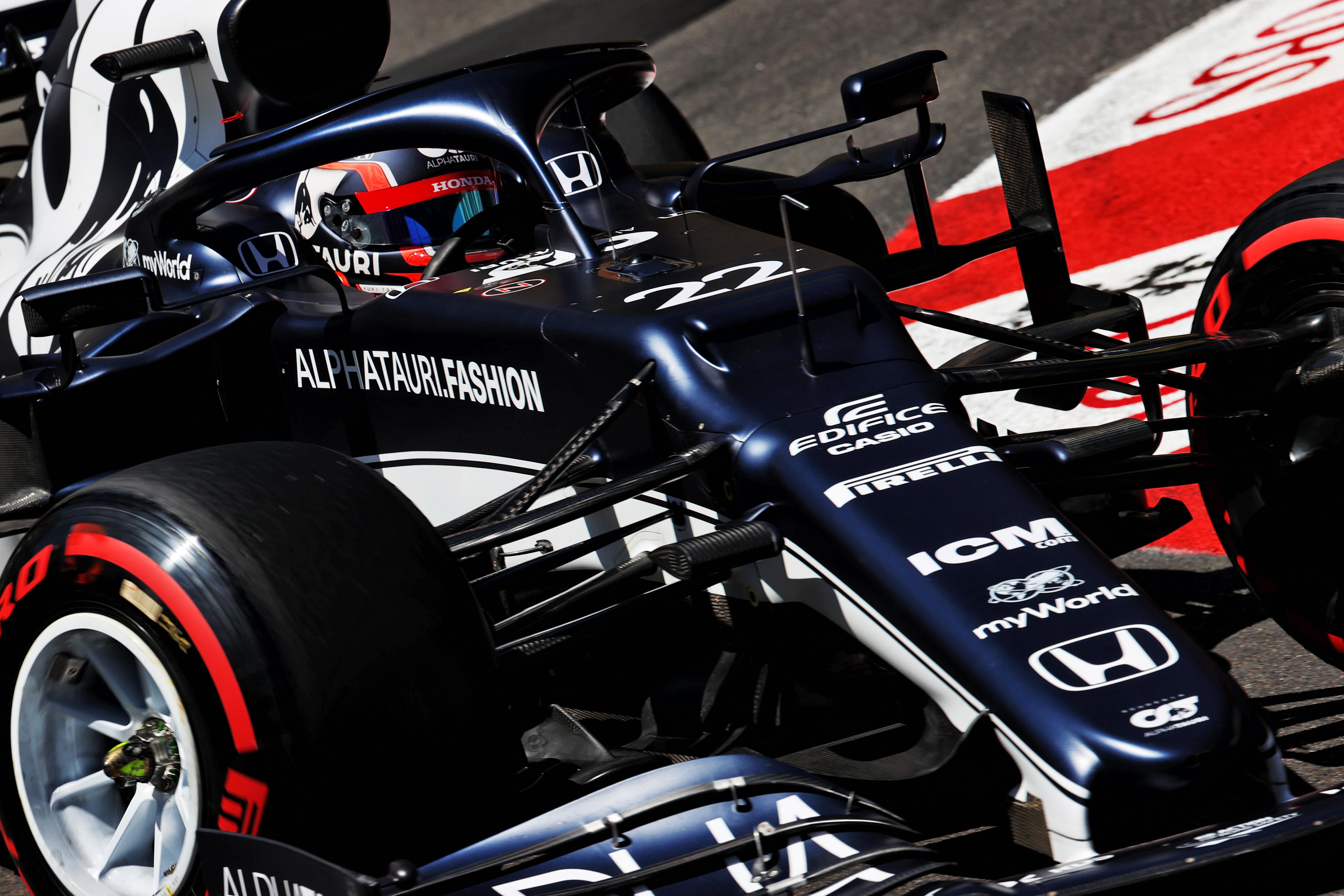 Yuki Tsunoda AlphaTauri Monaco Grand Prix 2021