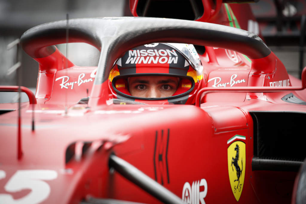 Carlos Sainz Jr Ferrari F1