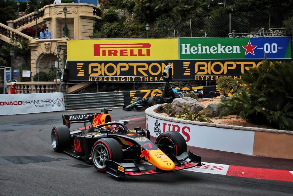 Liam Lawson Monaco F2 2021