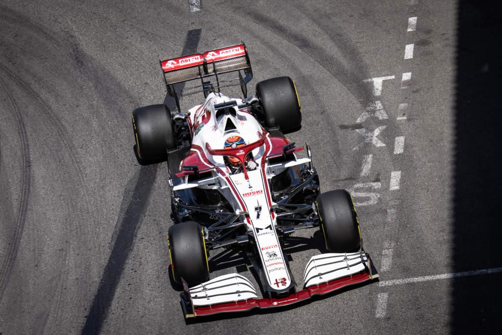Kimi Raikkonen Alfa Romeo F1 Monaco