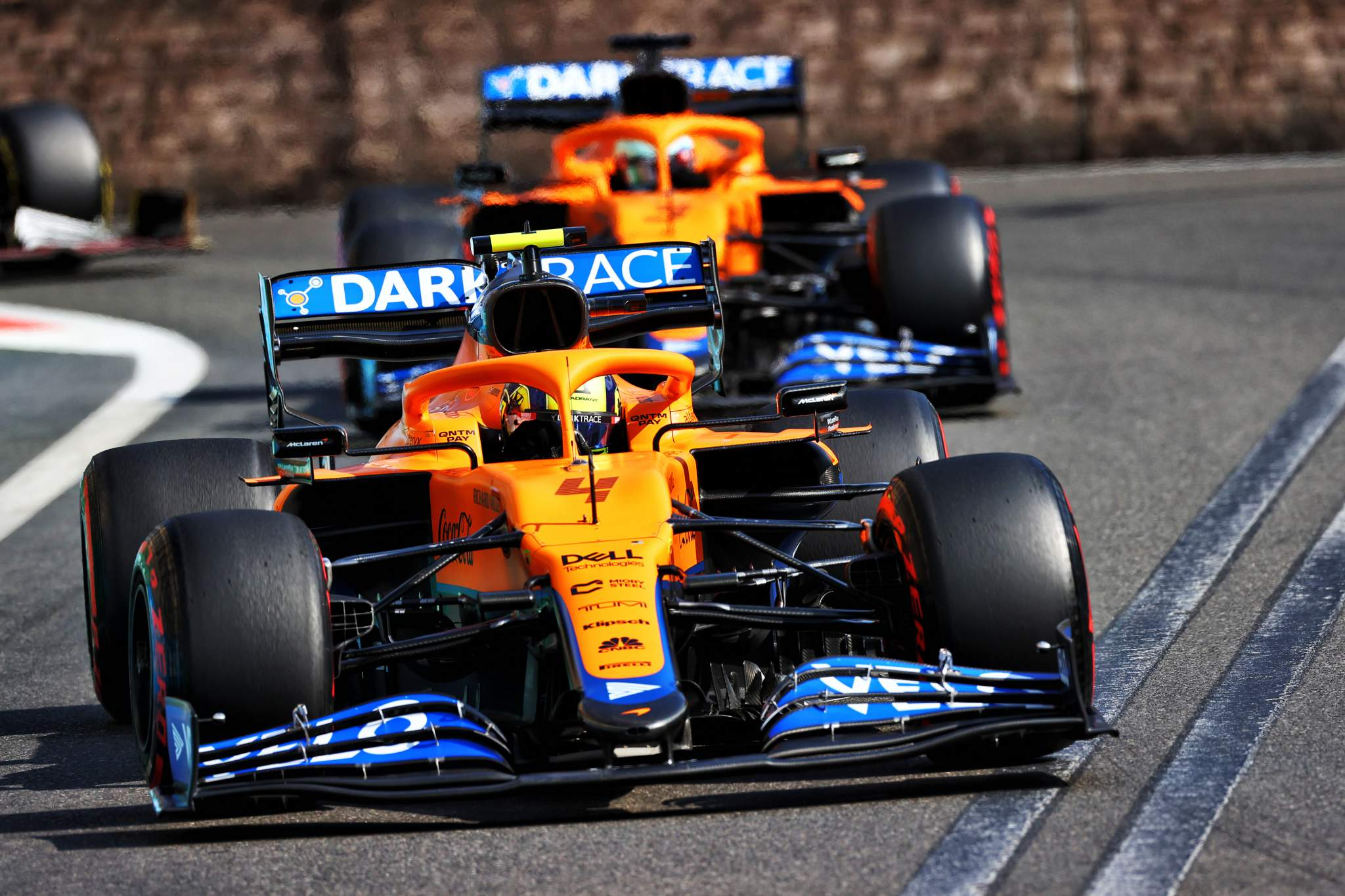 Motor Racing Formula One World Championship Azerbaijan Grand Prix Race Day Baku, Azerbaijan