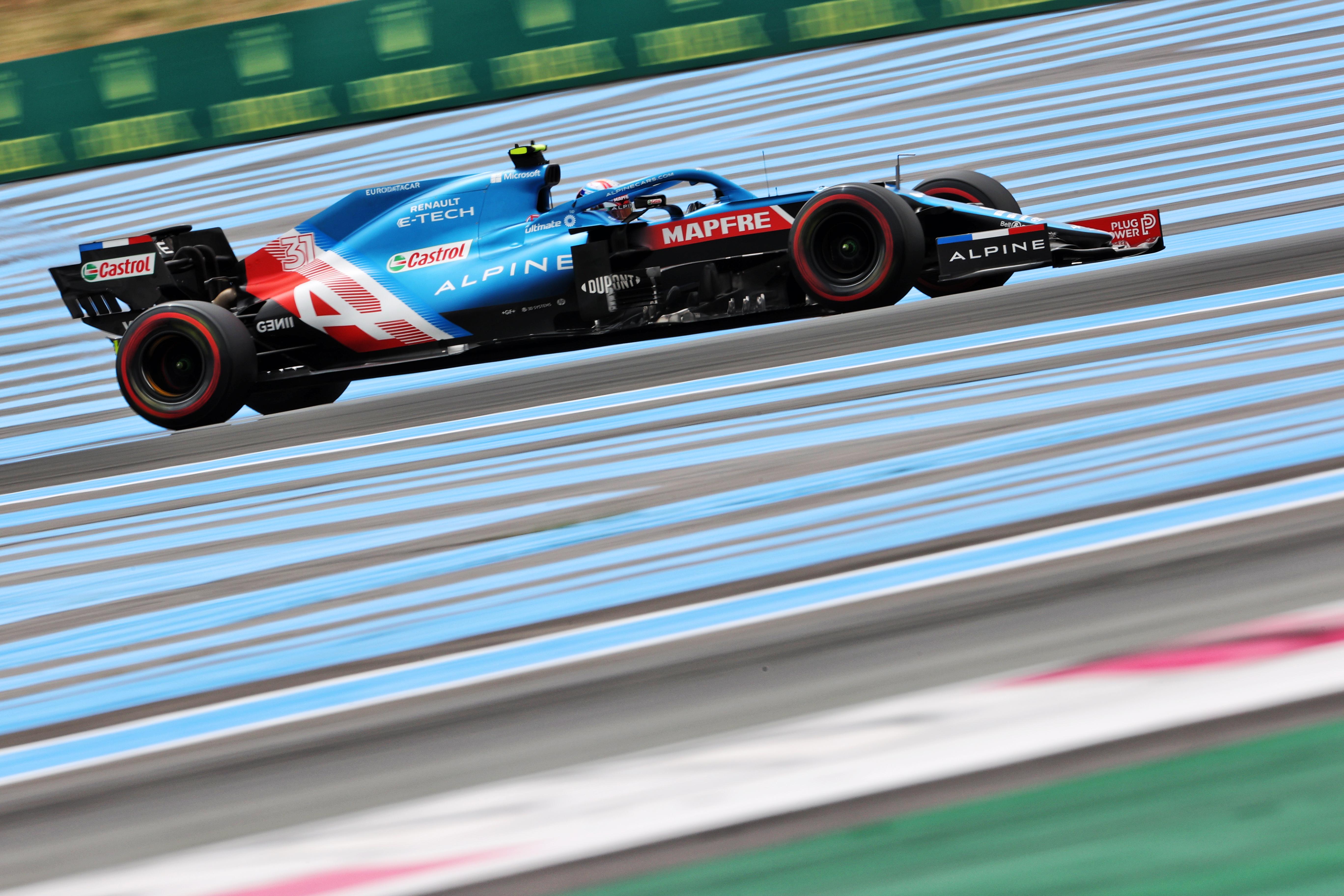 Motor Racing Formula One World Championship French Grand Prix Qualifying Day Paul Ricard, France