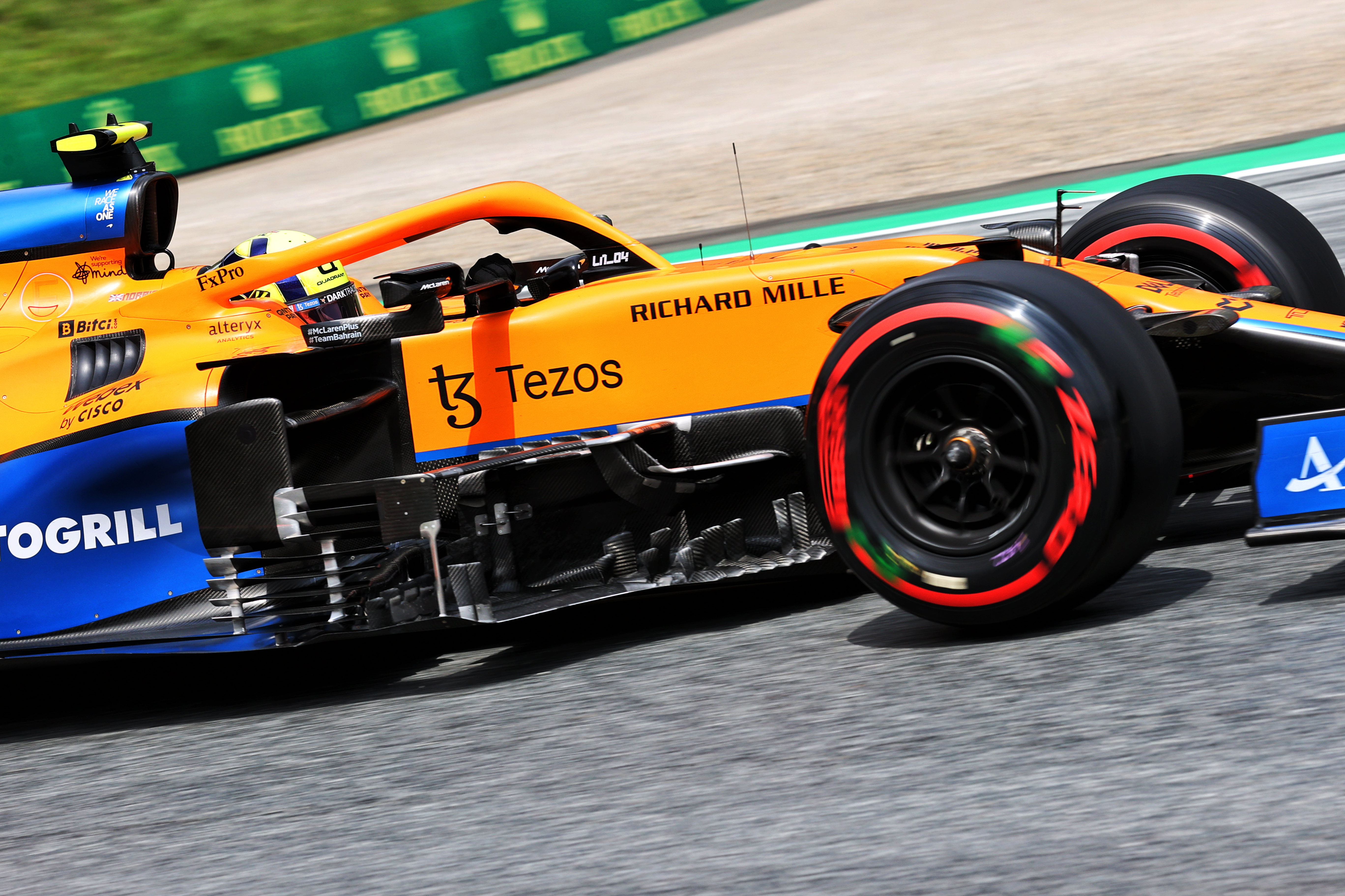 Motor Racing Formula One World Championship Steiermark Grand Prix Practice Day Spielberg, Austria