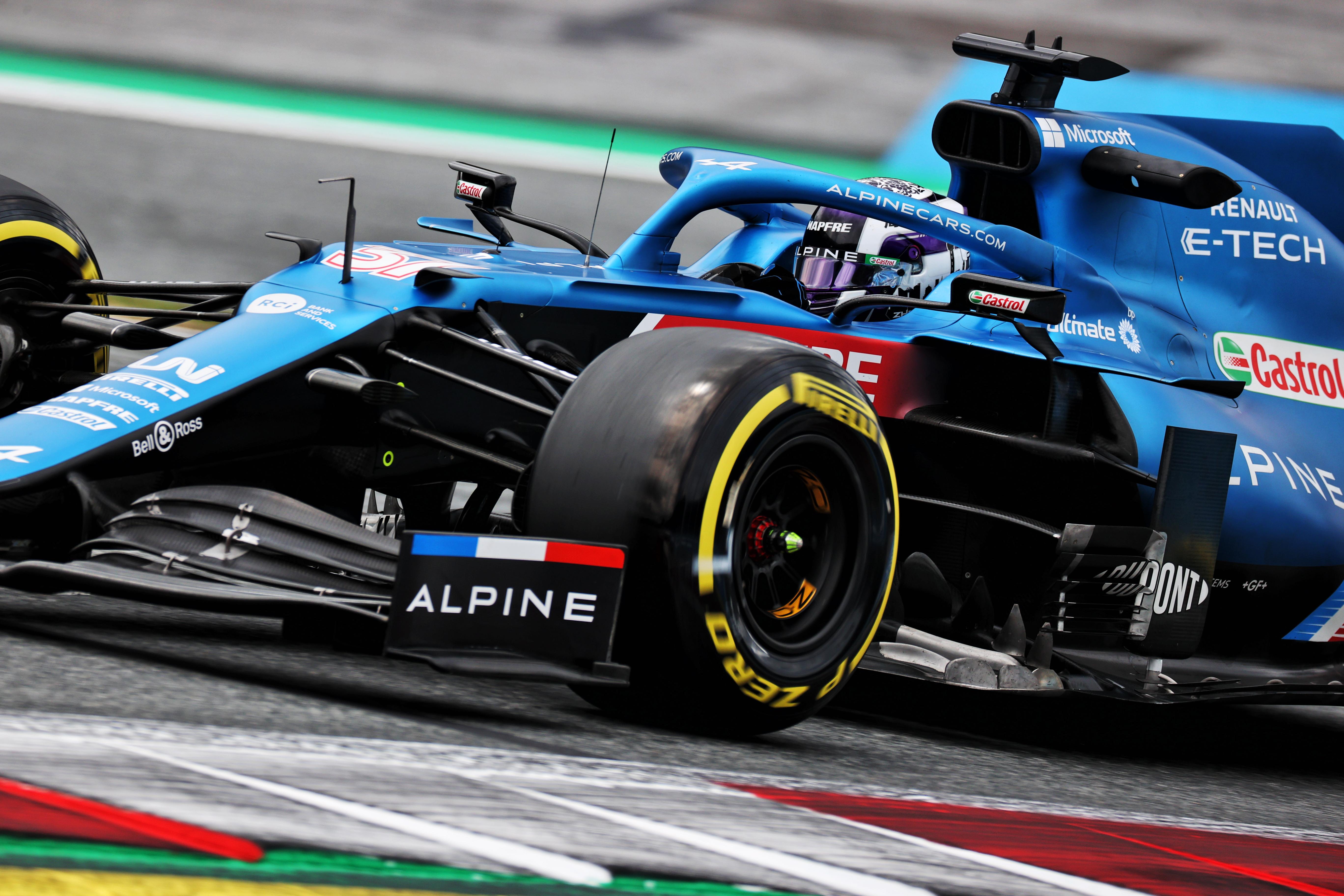 Motor Racing Formula One World Championship Austrian Grand Prix Practice Day Spielberg, Austria